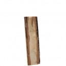 Tavola di legno di quercia, L35x8-12cm, naturale